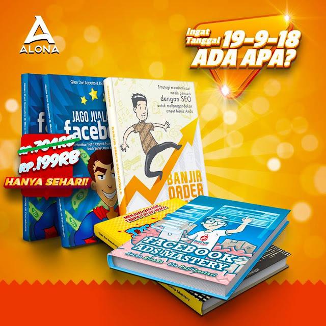 Rico Huang Bagi-bagi 20 Paket Buku Gratis, Mau? Ingat Tanggal 19-9-18 Loh!