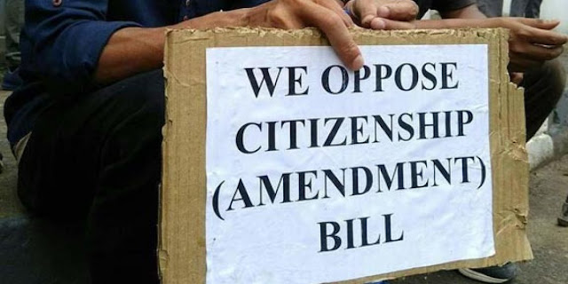Northeast India: Where Scribes Override Journalism |  Image Attribute: Protest against Citizenship Amendment Bill (CAB) / Source: Change.org