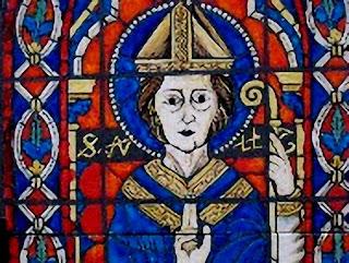 São Guilherme, vitral da catedral de Bourges