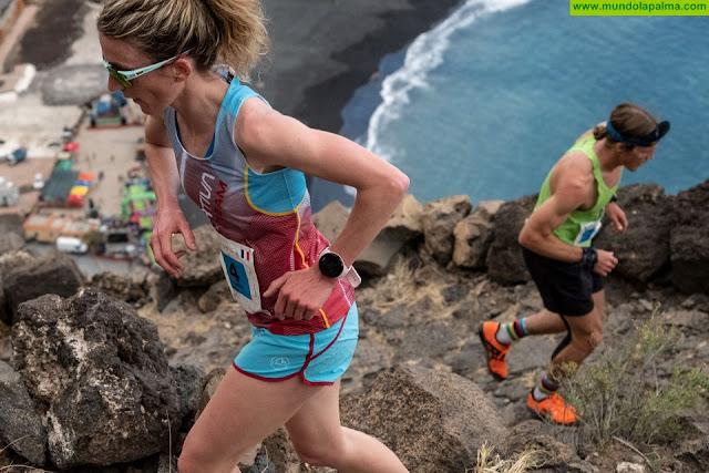 Jessica Pardin gana el Kilómetro Vertical Binter