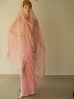 Pink_Georgette_Saree
