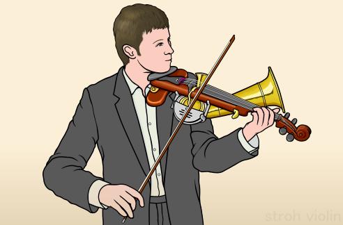 ストロー バイオリン stroh violin