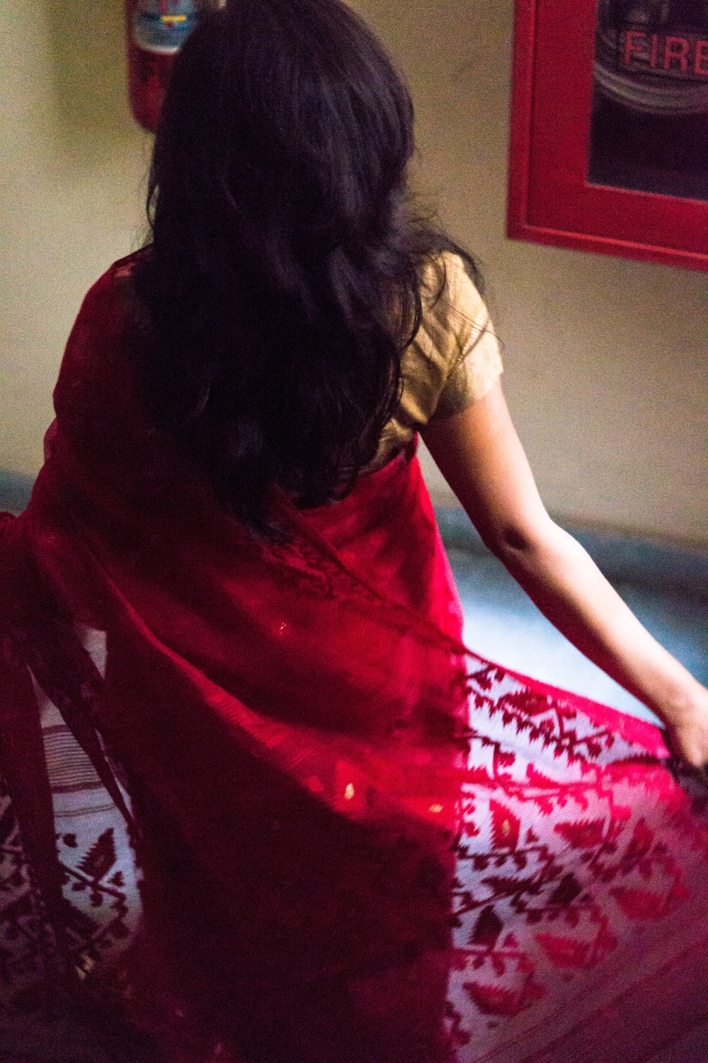 Indian fashion, saree blogger, dhakai jamdani