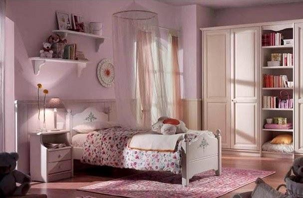 dormitorio rosa princesa