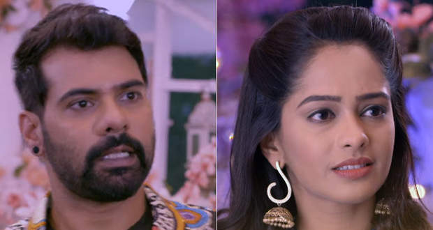 Rhea plays cleverly makes Abhi insult Prachi in Kumkum Bhagya