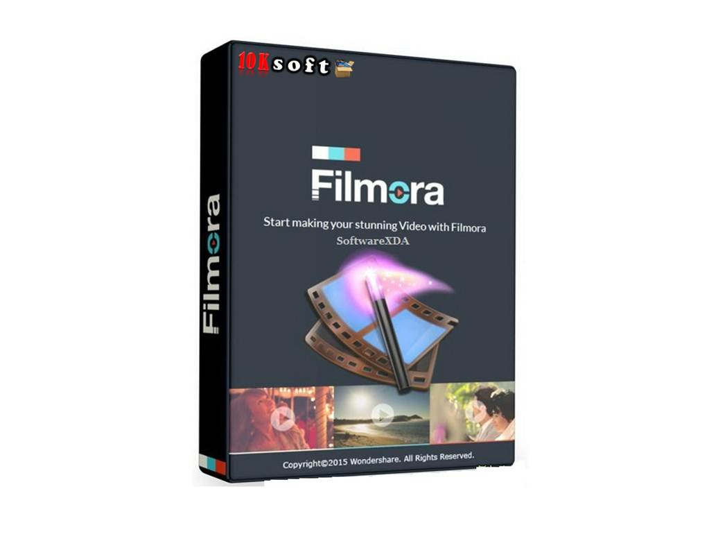 wondershare filmora 8 complete effect packs mac
