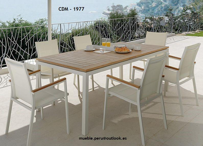 Mueble Peru Sakuray Comedor De Terraza Cdm 1997