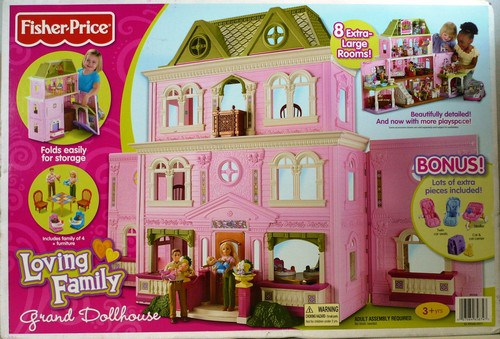 fisher price loving family grand dollhouse - Images for fisher price loving family grand dollhouse