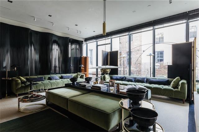 Un apartamento masculino en el West Village de Nueva York chicanddeco