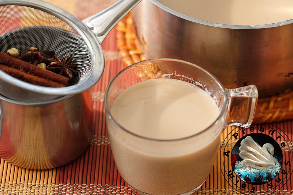 Thé chaï Masala (pas à pas en photos)