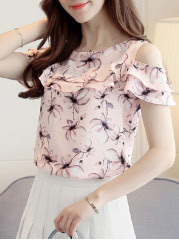 https://www.fashionmia.com/Products/spring-summer-chiffon-women-open-shoulder-printed-short-sleeve-blouses-211870.html