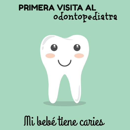 Primera visita al odontopediatra: Mi bebé tiene caries