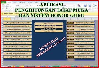Download Perhitungan Tatap Muka Otomatis dan Honor Guru xls.