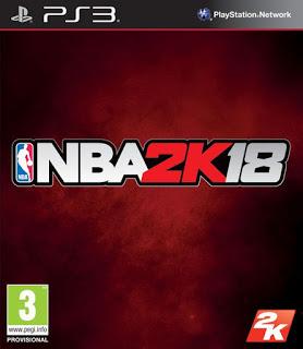 Baixar Grátis o jogo NBA 2k18 2018 PS3