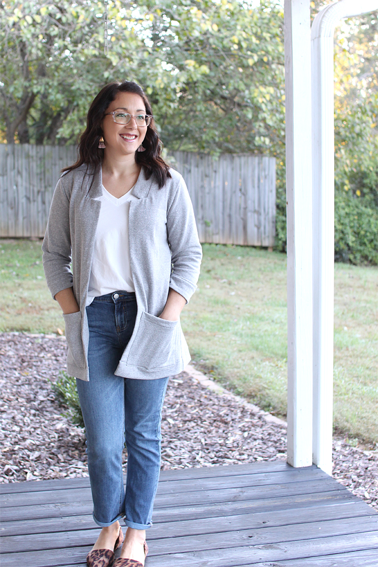 Fulton Sweater Blazer // Sewing For Women