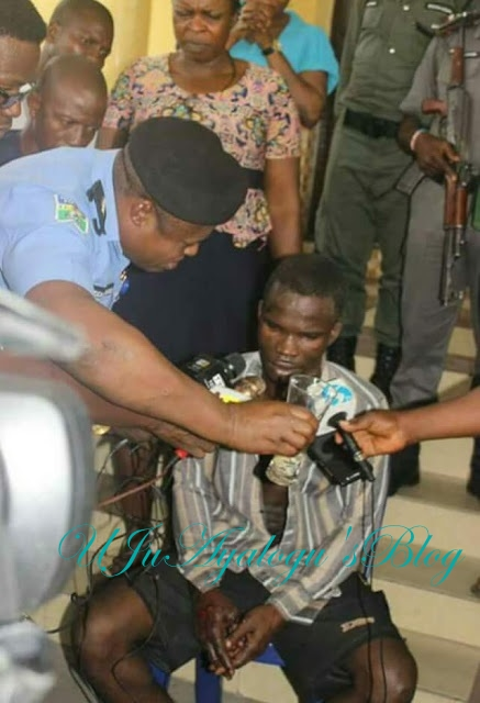 BREAKING: Police captures child killer, Ifeanyi Dike who escaped from custody in Rivers