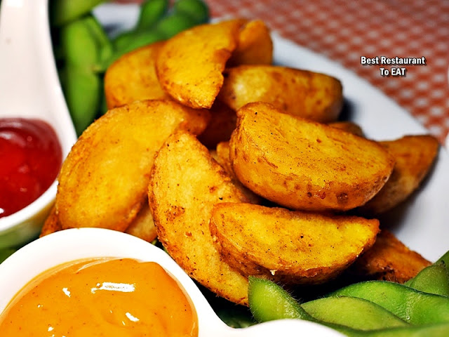 ECO WINE KUCHAI LAMA - Snack Menu - Potatoes Wedges