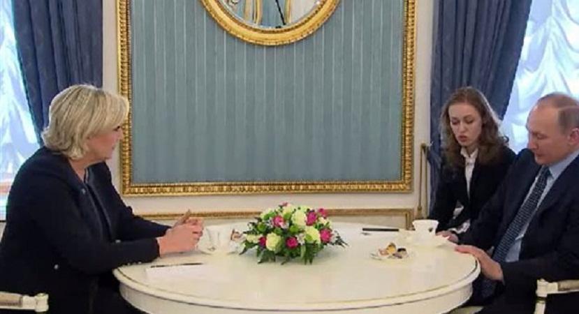 Πούτιν προς Λεπέν: «Θα βλέπω όποιον Γάλλο πολιτικό θέλω»!