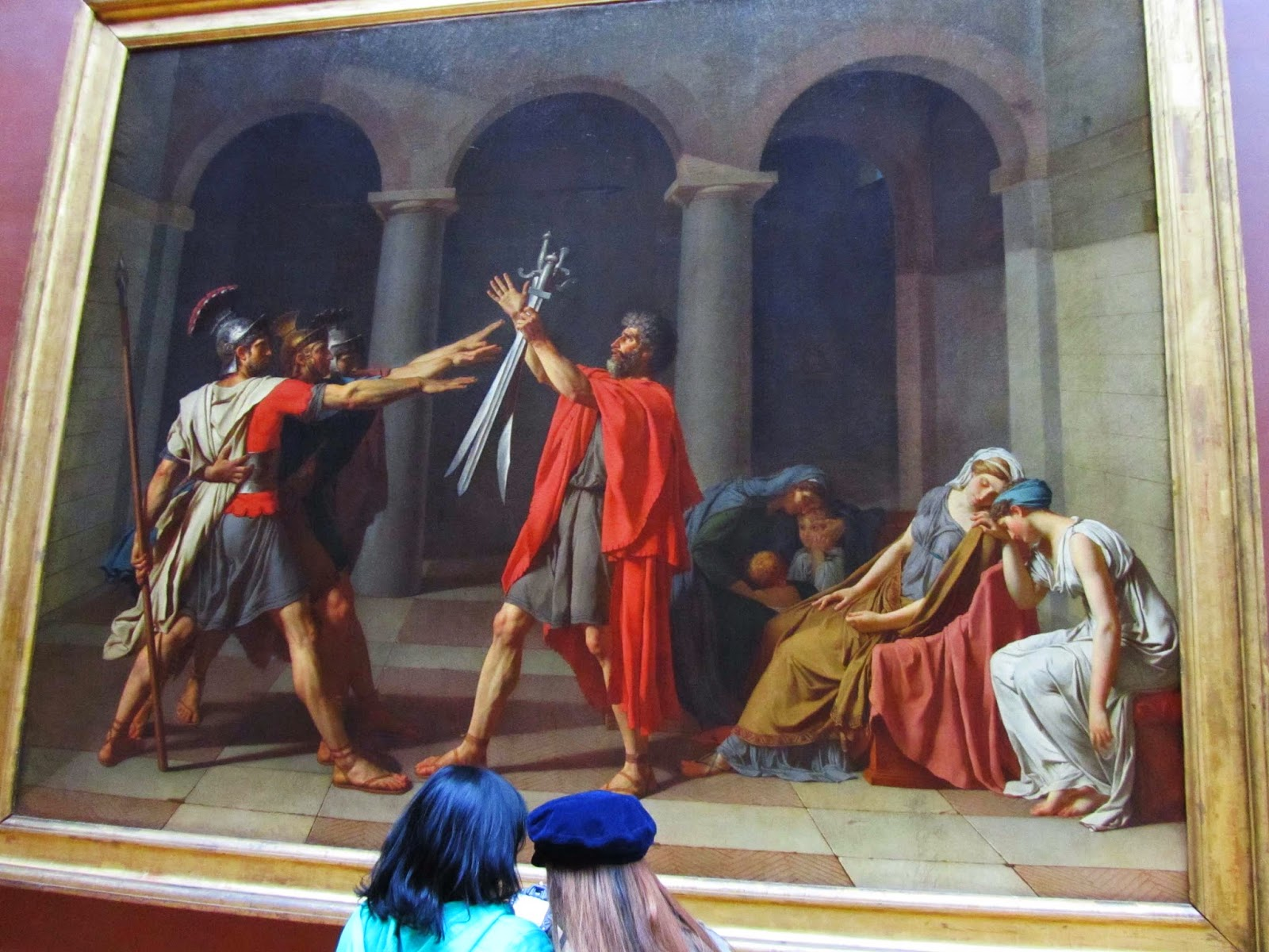 Arts and Facts: Episode 101: Jacques-Louis David ... Oath Of The Horatii