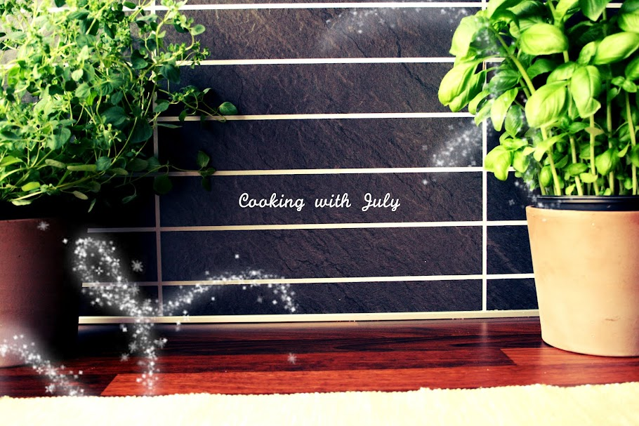 Cooking with July