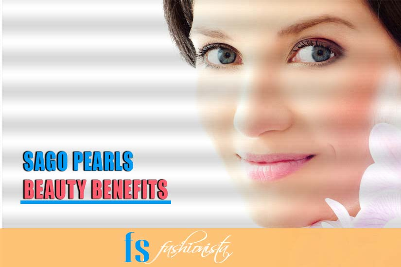Sabudana beauty benefits