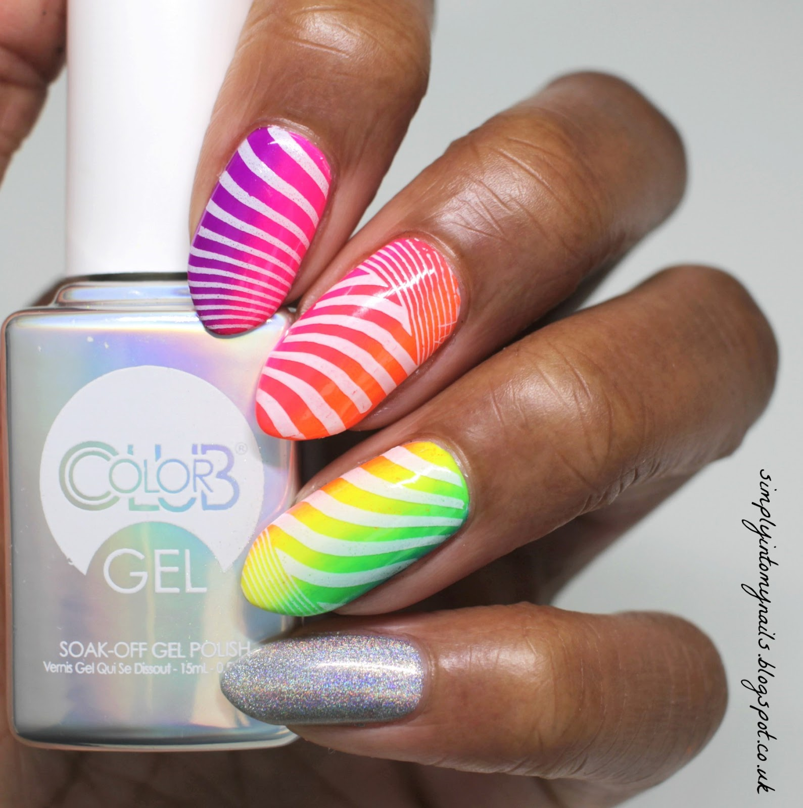 Color Club Holographic Gel Polish & Magpie Neon Pigments | Simply ...