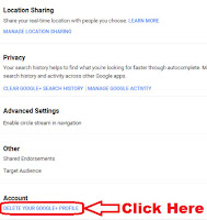 how to delete your google plus account but keep gmail