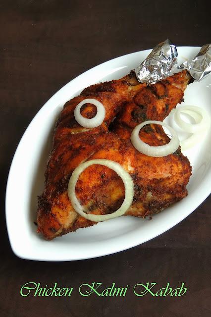 Masala Chicken Leg, Kalmi Kabab