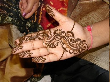 Mehndi Designs For Hands : Indo Arabic Mehndi Designs For Hands