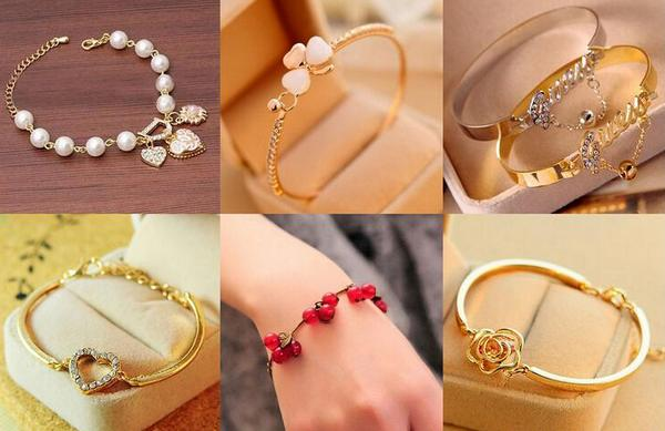 Different types of bracelets