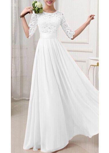 vestido de noiva com mangas