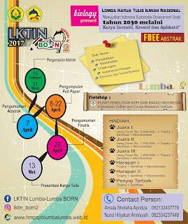 Lomba LKTIN BORN 2 2017 by Univ. Jember Untuk Mahasiswa
