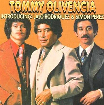 Foto de Tommy Olivencia en portada de disco