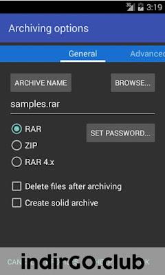 rar for android premium apk