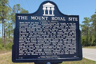Marcador histórico en Mount Royal