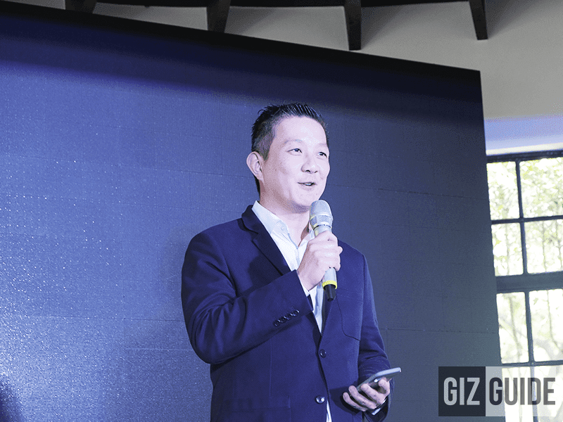 Martin Low, the Managing Director of Sennheiser Asia