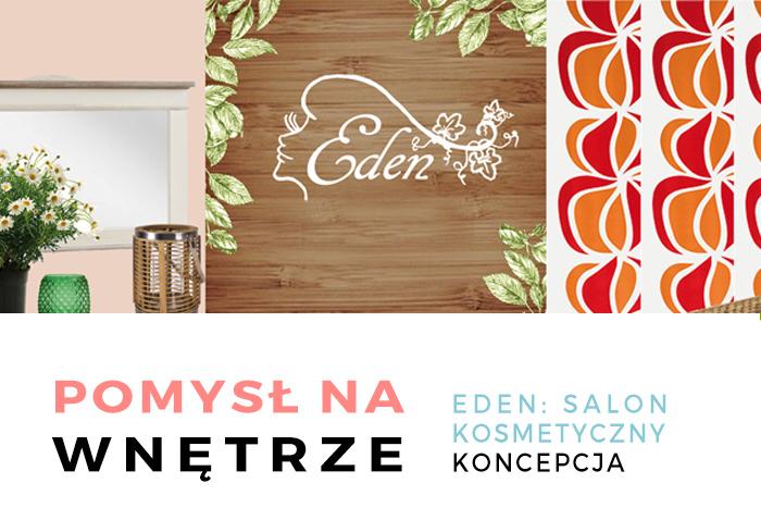 Salon kosmetyczny Eden - koncepcja wnętrza