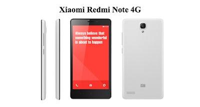 Harga Xiaomi Redmi Note 4G Baru, Harga Xiaomi Redmi Note 4G Bekas, Spesifikasi lengkap Xiaomi Redmi Note 4G