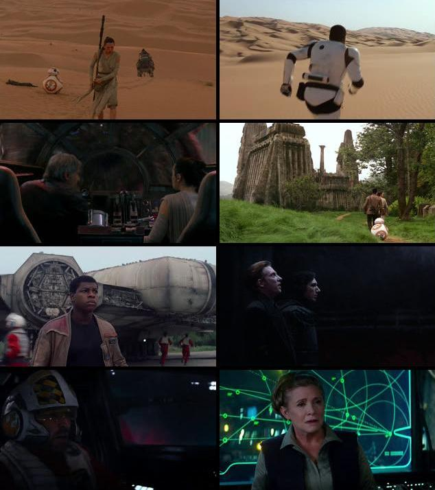 Star Wars The Force Awakens 2015 Dual Audio Hindi 720p BluRay