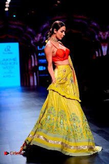 Bollywood Actress Malaika Arora Khan Walks on Ramp at LFW Summer 2017  0023.jpg