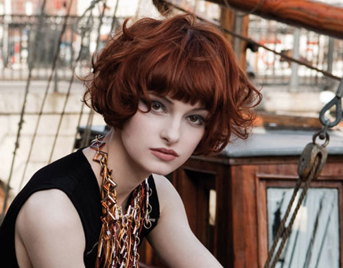 Updo Hairstyles 2012: Curly Bob Hairstyles