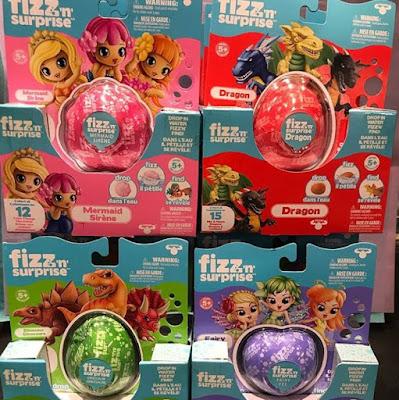 Детские бомбочки для ванны с игрушкой