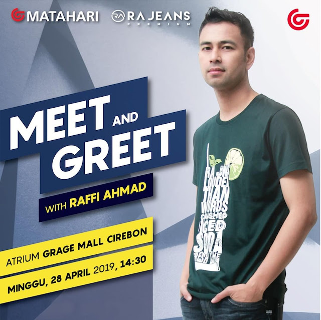 #Matahari - #Promo Event Meet & Great With Raffi Ahmad di Cirebon (28 April 2019)