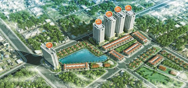 Phối cảnh dự án FLC Garden City