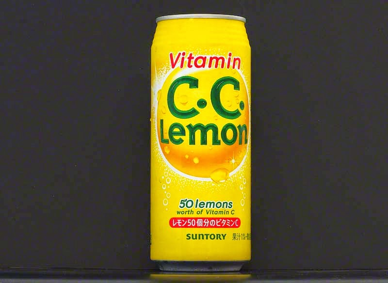 can of lemon drink containing equivalent of 50 lemons worth vitamin C