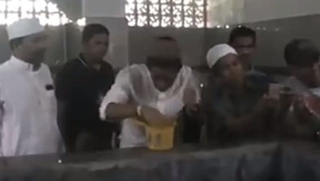 Viral Video Wudu di Gayung, Sandi Bilang Begini
