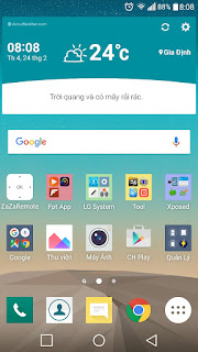 Rom MarshMallow android 6.0 cho LG G3