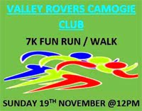 Valley Rovers 7k in Brinny, Inishannon...Sun 19th Nov 2017