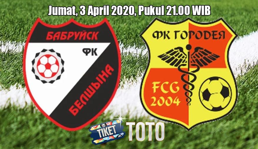 Prediksi Belshina Bobruisk VS Gorodeja 3 April 2020