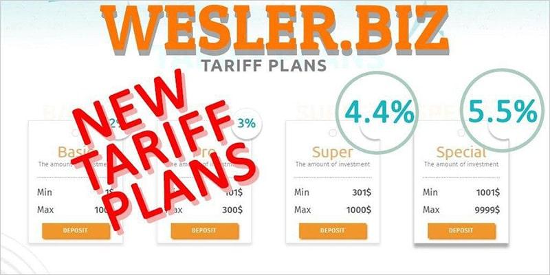 Увеличение доходности в Wesler